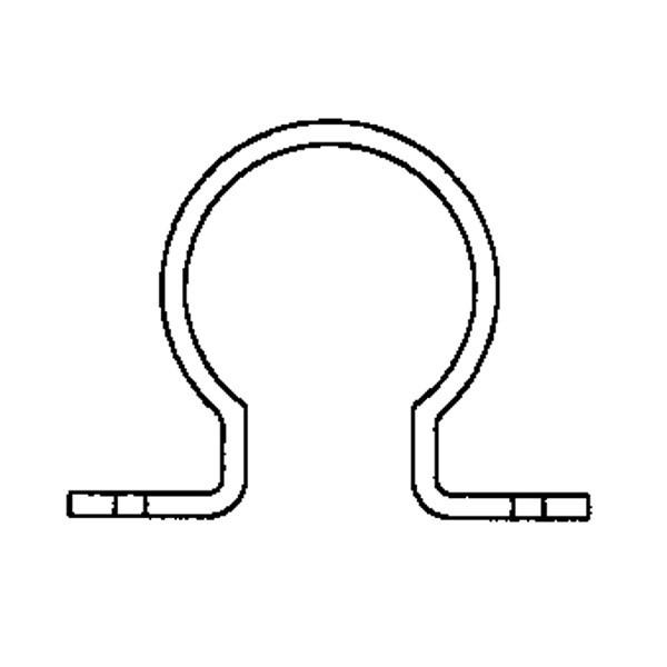 Крепление для трубы 40 мм