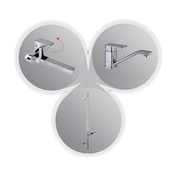 Комплект смесителей для ванной
