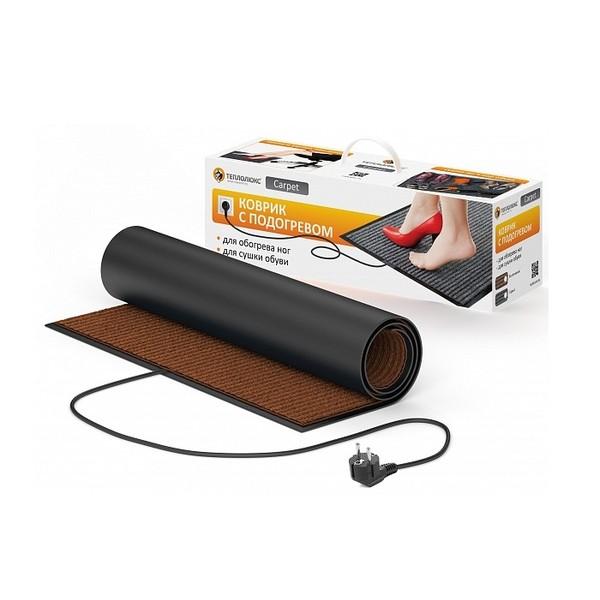 Коврик с подогревом Carpet 50x80 коричневый