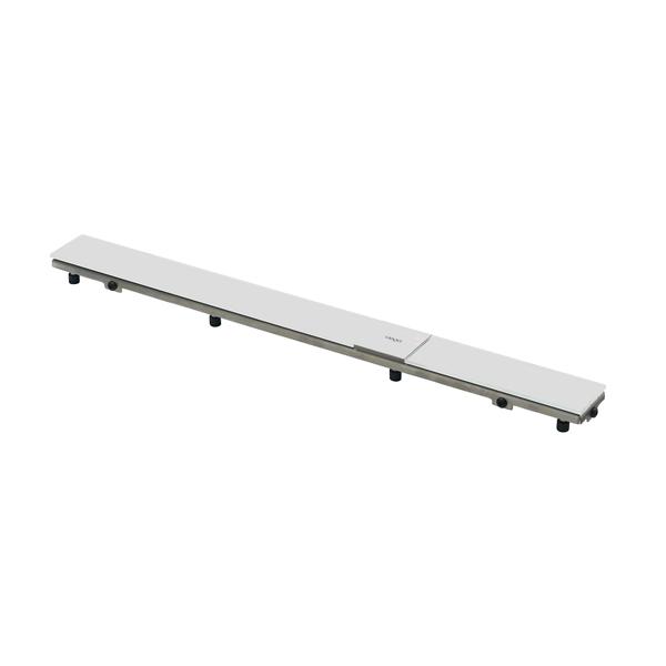 Решетка для трапа 750 мм светло-серое стекло Advantix Visign ER9 4971.80