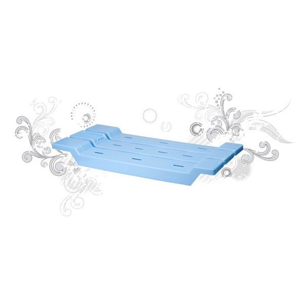 Сидение для ванны светло-голубое