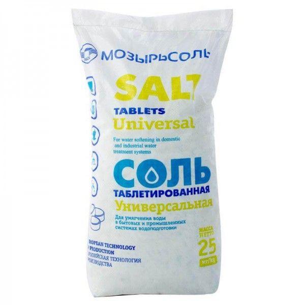 Соль таблетированная универсальная для фильтров