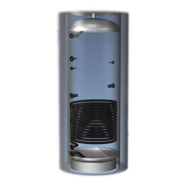 Теплоаккумулятор 750 л 1 теплообменник без теплоизоляции
