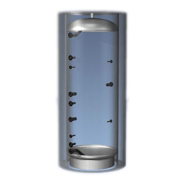 Теплоаккумулятор 500 л без теплообменников без теплоизоляции