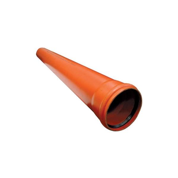 Труба рыжая наружная 160-1 м Cosmoplast
