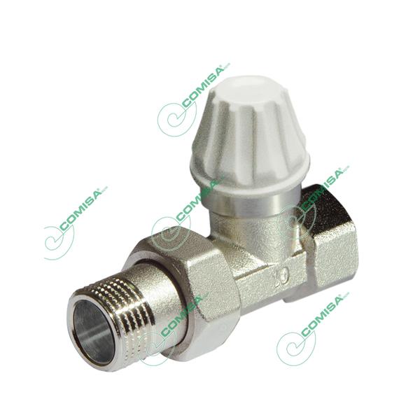 Вентиль для радиатора 1/2 прямой нижний