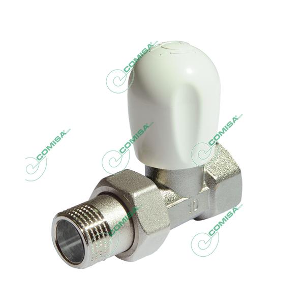 Вентиль для радиатора 1/2 прямой верхний