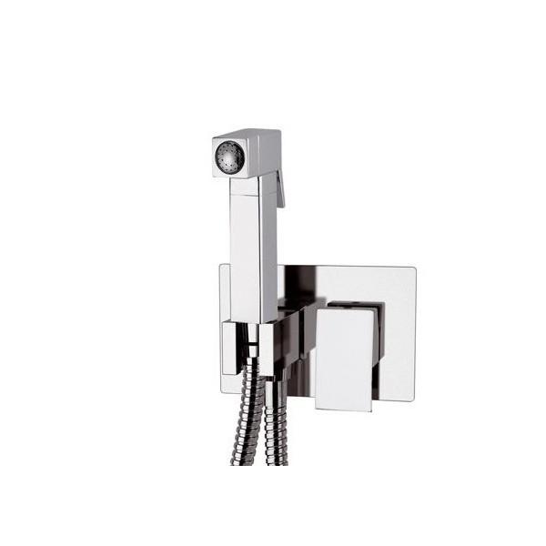 Встроенный смеситель с гигиеническим душем FLASH